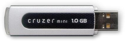 cruzer 1 gig memory