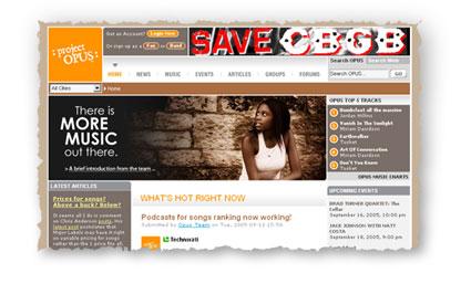 project opus web site