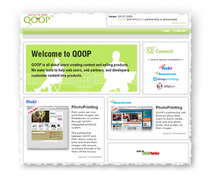 qoop web site