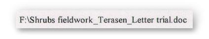 terasen letter