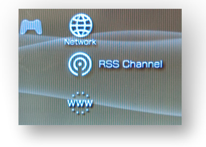psp with rss