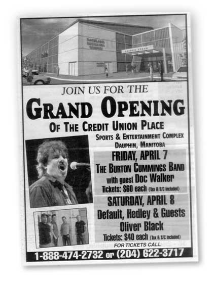 burt cummings opens the mall