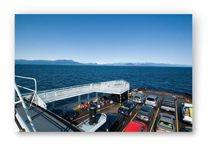 bc ferries car deck