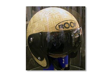 roof bamboo helmet