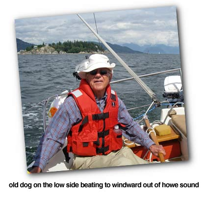 old dog in howe sound